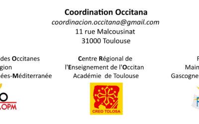 La Coordinacion Occitana escriu als candidats